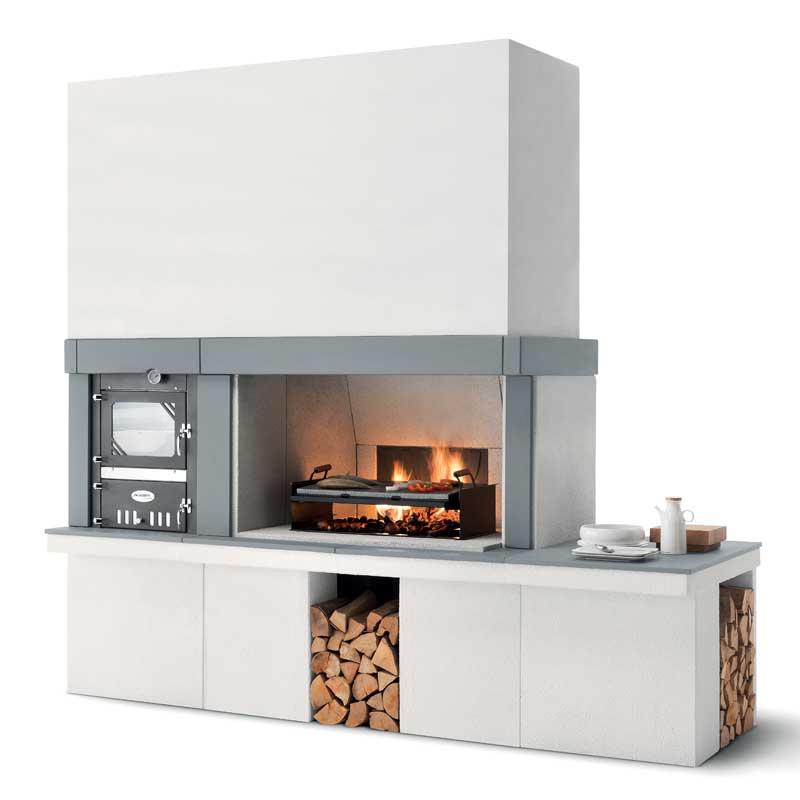 Barbecue a legna Palazzetti