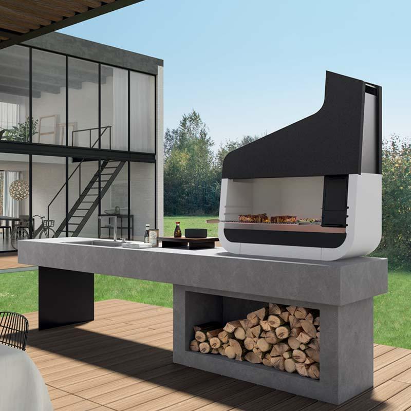 Barbecue per esterni