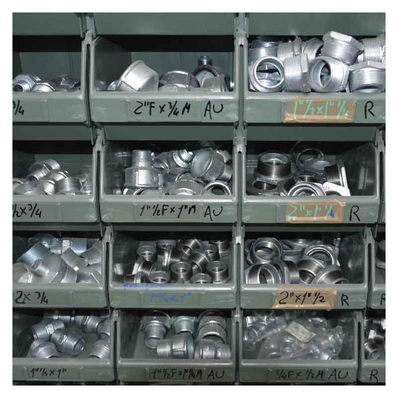 Raccordi zincati idraulica
